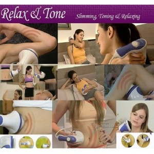 Relax And Spin Tone Whole Body Massager-slimming