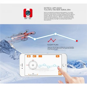 TKKJ TK110 Wifi FPV 0.3MP Camera 2.4GHz Foldable RC Quadcopter Drone