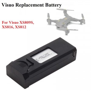 VISUO 3.85v 1800mah Lipo Battery For XS809S XS816 XS812 Quadcopter Drone