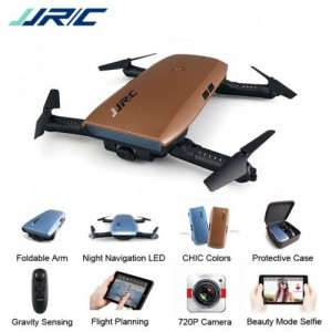 JJRC H47 ELFIE+ 720P HD Camera Foldable RC Pocket Selfie Drone