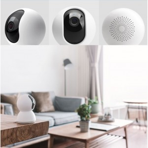 Xiaomi Mijia Smart Cloud Dome Camera 1080P 360 Degrees Panoramic Wifi PTZ Night Vision CCTV