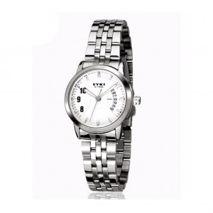 EYKI E-TIMES UNIQUE Ladies Stainless Steel Watch W8408WH White