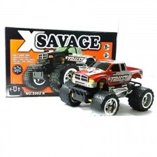 X Savage Big Foot 1:24 Scare Remote Control Car