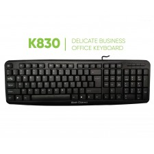 Bolt Gizmo K830 Wired Keyboard USB Waterproof matte keypad