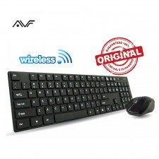 AVF AKM8000G COMBO SET WIRELESS KEYBOARD & MOUSE OPTICAL FOR DESKTOP NOTEBOOK SMART TV