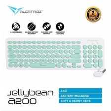 Alcatroz JellyBean A200 2.4G Wireless Keyboard-PS4 Compatible