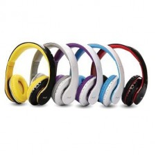 AVF HBT700 Bluetooth Wireless Headset Headphone Headband With Microphone Rechargeable & Foldable