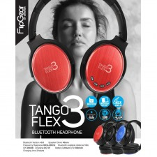 FlipGear Tango Flex 3 Wireless Bluetooth Headphone with Bluetooth ,AUX Line In ,Micro SD card slot and Built In Mic