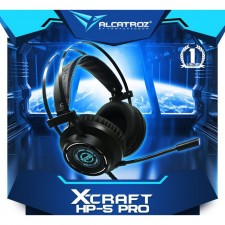 Alcatroz X-CRAFT HP 5 PRO GAMING HEADSET HEADPHONE 7.1 SURROUND SOUND With MIC & NOISE ISOLATION
