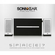 SonicGear Space 7 Hi-Fi Bluetooth With Pure Rich Sound Speaker