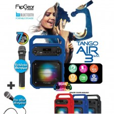 Vinnfier FlipGear Tango Air 3WM Bluetooth Portable Speaker Karaoke System & USB