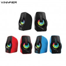 VINNFIER Icon 505 USB Portable Speaker with LED Lights