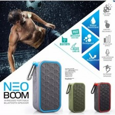 Vinnfier Neo Boom Portable Bluetooth Speaker with Micro SD Slot and Microphone
