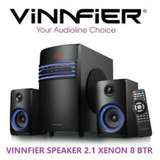 Vinnfier Xenon 8 BTR 2.1 with Bluetooth Speaker