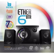VINNFIER ETHER 6 BTR 2.1CHN SPEAKER WITH BT,USB,FM RMS 38WATTS