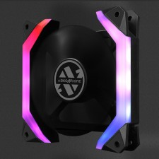 ABKO NCore SPIDER SPECTRUM FAN (120MM)- PC CASE LED COOLING FAN