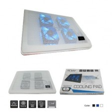 ICUTE ICC110 SUPER SILENT NOTEBOOK COOLER PAD LAPTOP COOLING PAD WITH 6 FAN