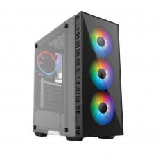 AVF GAMING FREAK S90G SPIRIT PREMIUM MIDDLE TOWER CASE WITH TEMPERED GLASS CPU PC DESKTOP CASING CHASSIS