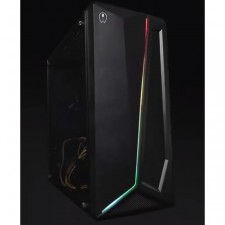 AVF GAMING FREAK FLUX2 10G TOWER GAMING CASE CHASSIS DESKTOP CPU COMPUTER USB 3.0 BLACK