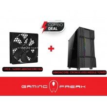 ABKO NCore CRONOS 610S MIDDLE TOWER TUNING WITH 1 BUILT IN FAN CASE GAMING CHASSIS CASING CASE
