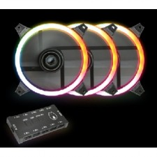 AVF GAMING FREAK HOLLO SPECTRUM DUAL RING LED 120mm Fan for PC Starter kit HOLLO