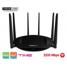 TOTOLINK A7000R AC2600 Gigabit Dual Band Wireless WiFi UniFi ROUTER / AP / REPEATER 2253MBPS MU-MIMO TECHNOLOGY