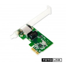 TOTOLINK PX1000 Gigabit PCI Express (PCI-E) 10/100/1000Mbps Network LAN Adapter For Desktop