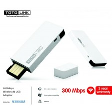 TOTOLINK N300UM 300Mbps Wireless Adapter With Cradle USB WIFI