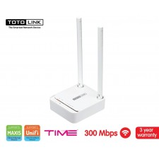 TOTOLINK N200RE V3 Travel Companion Mini 2 PORT ROUTER AP REPEATER 300MBPS WiFi Extender Access Point