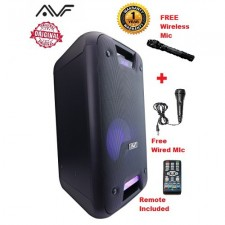 AVF SONIX WAVE 250W SUPER BASS ALL-IN-ONE VOICE REC KARAOKE HIFI MUSIC SYSTEM