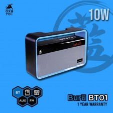 OXAYOI Buru BT01 10W Portable Speaker ( Bluetooth, SD Card slot, USB, AUX In, FM Radio)