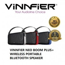VINNFIER Neo Boom PLUS Wireless Bluetooth Portable Speaker With USB Drive
