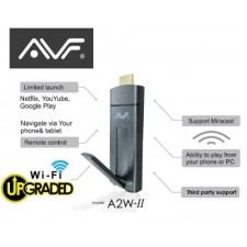 AVF A2W-II Miracast Dondle Andriod Mirror&Airplay Web Browser Cast+Miracast+DLNA