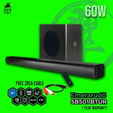 Oxayoi Emerarudo SB501 BTUR 60W Sound Bar