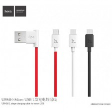 HOCO ORIGINAL UPM10 L Shape Charging Cable for Micro USB
