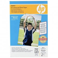 HP Advanced Photo Paper Glossy 25 sheets 4R Size Q8691A Original Genuine