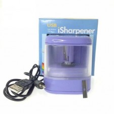 USB LED Flashing Pencil Automatic Sharpener