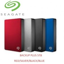Seagate Backup Plus Slim Portable Hard Drive USB 3.0 5TB
