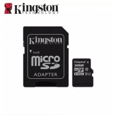 Kingston Canvas Select 32GB microSDHC Class 10 Memory Card