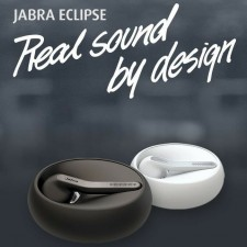 JABRA ECLIPSE TALK 55 BLUETOOTH WIRELESS HEADSET HD VOICE & POWERFUL NOISE CANCELLATION EARPODS