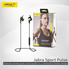 JABRA SPORT PULSE SPECIAL EDITION BLUETOOTH WIRELESS HEADPHONES NOISE CANCELLATION EARPODS EARPHONES STEREO