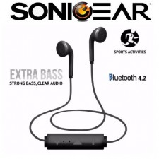 SonicGear BlueSports 2 Sports Bluetooth Earphones for Smartphones and Tablets