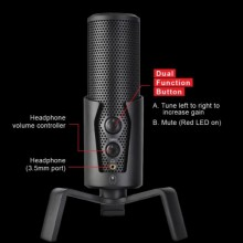 GAMING FREAK CHANTER X STREAMING & PROFESSIONAL AUDIO CONDENSER MICROPHONE