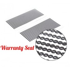 1000Pcs Warranty Seal Void Security Labels Removed Tamper Evident Stickers