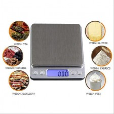 500g/3000g X 0.1g Digital Gram Scale Pocket Electronic Jewelry Weight Scale
