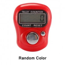 Digital LCD Numerals Electronic Finger Clicker Ring Hand Knit Rows Tally Counter Sport