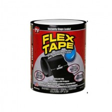 "As Seen On TV Flex Tape Black ""4 X 5 ""Black"