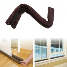 Useful Twin Door Draft Dodger Guard Stopper Protector Under Door Draught Excluder Sponge Dustproof