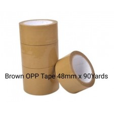 Brown OPP Packaging Tape 2'' x 90Yards 1 Pcs