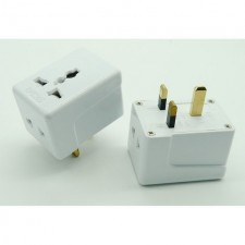 R765 Universal UK Port Realeos Malaysia 3 Pin Way Plug Adapter Extension